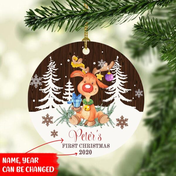 Baby First Christmas Customized Ornament YDH3009005 1