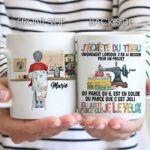 J'adore Coudre Love Sewing Personalized Mug