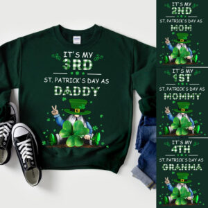 My FirstSecond.... St. Patrick s Day As MOMMY Personalized Shirts YRH0801001