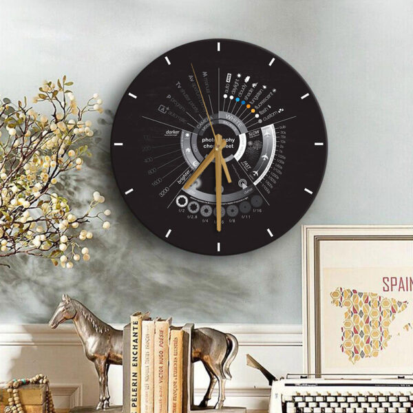 Photography Lovers Photography Wooden Clock YDG2801006