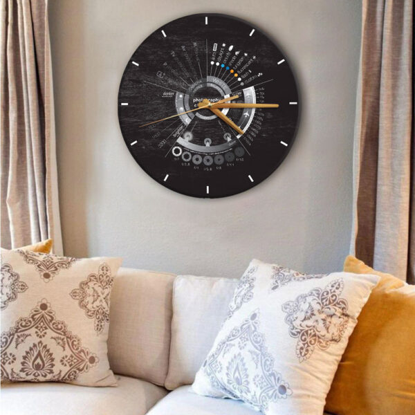 Photography Lovers Photography Wooden Clock YDG2801006 MK Web