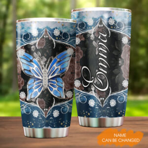 Butterfly Jewelry Personalized Stainless Steel Tumbler YZH20021052