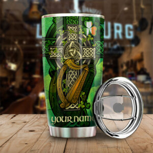 Irish Nutrition Facts ST. Patrick s Day Gift Personalized Stainless Steel Tumbler YZH01020032