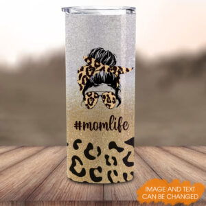 Mom Life And Kid Life Personalized Skinny Tumbler 4 YDC2202103