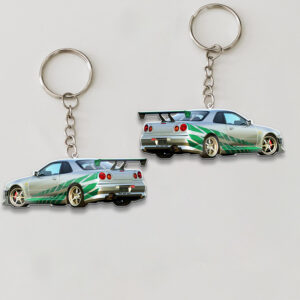 Sport Car Personalized Keychain YAJ25021012