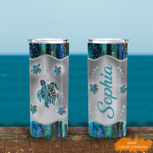 Turtle Lovers Personalized 20oz Tall Tumbler YDG1702104 Mk 1