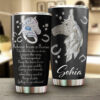 Advice From A Horse Jewelry Horses Lover Personalized Stainless Steel Tumbler