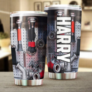 Firefighting Equipments Personalized Stainless Steel Tumbler