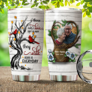 Memorial Personalized Stainless Steel Tumbler