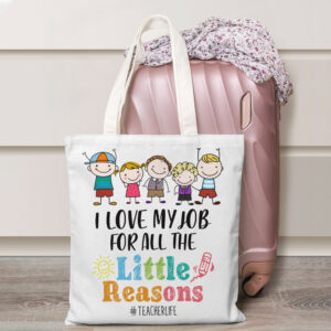 Gift For Teacher Personalized Tote Bag
