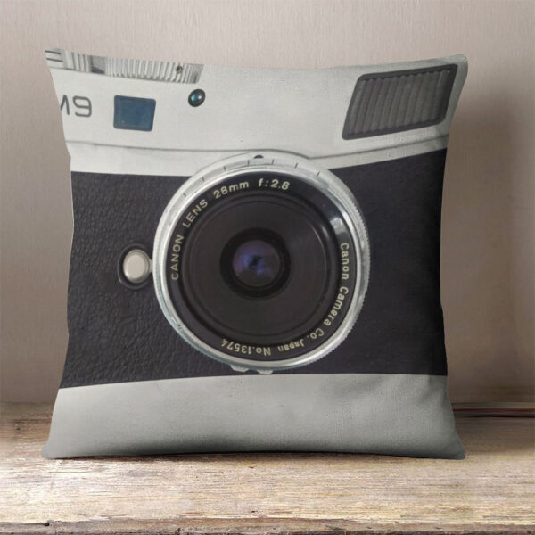 Camera Photography Lovers Personalized Pillow