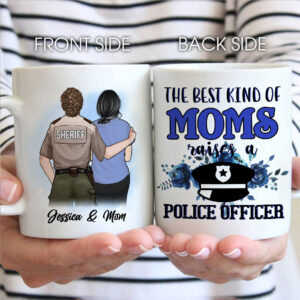 My Favorite Female Police Officer Calls Me Mom Personalized Coffee Mug