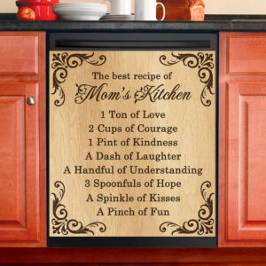 Recipe For A Mom Mother's Day Gift Dishwasher Cover
