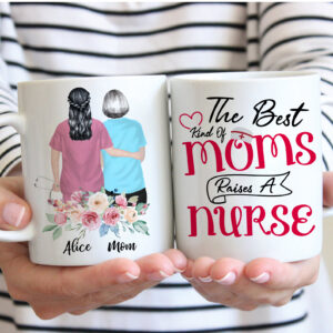Nurse Mother's Day Gift Personalized Coffee Mug