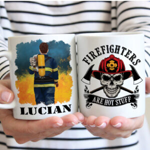 Firefighter Is An Honor Personalized Mug