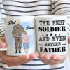 Military Father And Son Personalized Coffee Mug